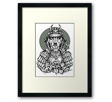 Samurai T Framed Print
