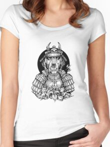 Samurai T Women's Fitted Scoop T-Shirt