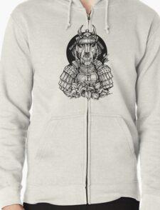Samurai T Zipped Hoodie
