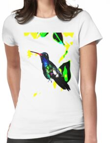 Blue Hummer Womens Fitted T-Shirt