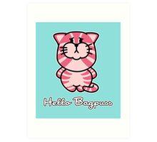 Hello Bagpuss Art Print