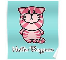 Hello Bagpuss Poster