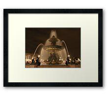 Place de la Concorde Framed Print