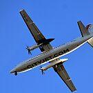 City Jet Over Exeter,Devon UK by lynn carter
