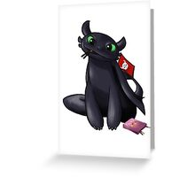 Pocky Toothless Greeting Card
