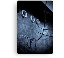 wired up Canvas Print