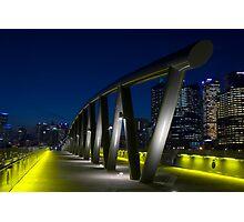 Birrarung Marr Footbridge Photographic Print