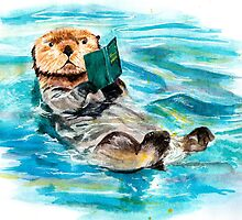 Otter by AnnaShell