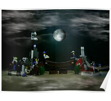 The Fullmoon Battle At LEGOLand Poster