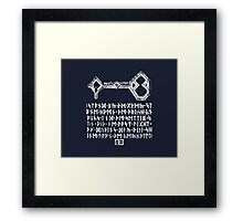 [The Hobbit] - Key to Erebor Framed Print