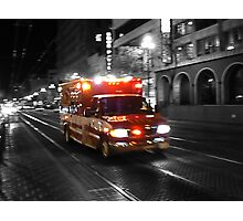 Ambulance Photographic Print