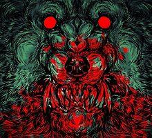 Werewolf shape Print/case by WOLFSKULLJACK