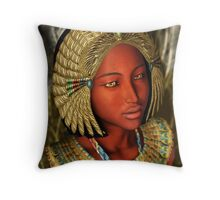 'Annipe - Daughter of the Nile' Throw Pillow