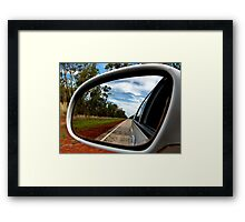Reflected Reality Framed Print