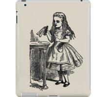"""Alice In Wonderland"" DRINK ME iPad Case/Skin"