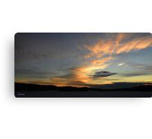 Sunrise series (3) Canvas Print