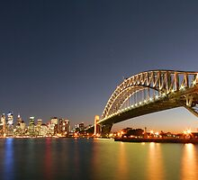 Sydney Harbour Twilight by Philip Wong