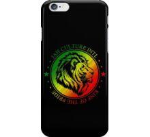 King of the Pride RASTA Circle iPhone Case/Skin