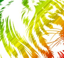 King of the Pride RASTA Circle Sticker