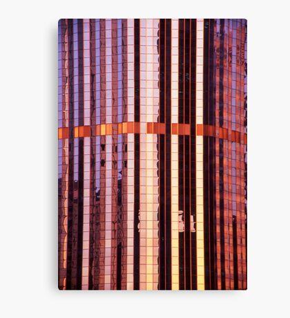 reflective abstract - Brisbane CBD Canvas Print
