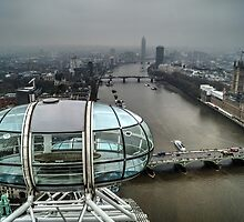 From the top of the London Eye by Mark Thompson