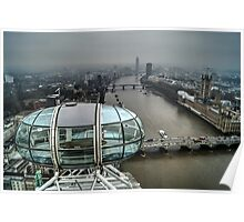 From the top of the London Eye Poster