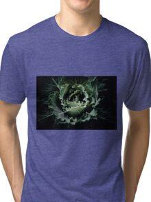 Green heart Tri-blend T-Shirt