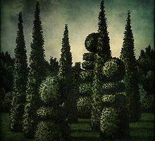 The Secret Moonlit Garden by StrangeStore