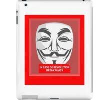 In case of revolution iPad Case/Skin