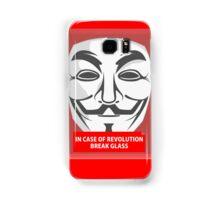 In case of revolution Samsung Galaxy Case/Skin