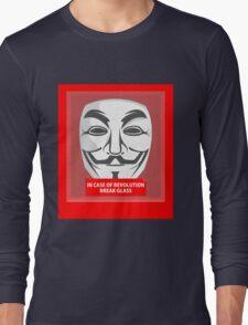 In case of revolution Long Sleeve T-Shirt