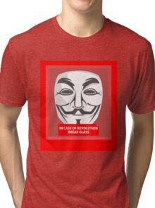 In case of revolution Tri-blend T-Shirt