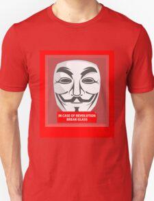 In case of revolution Unisex T-Shirt