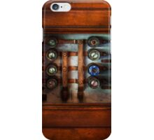 Steampunk - Electrical - The fuse panel iPhone Case/Skin