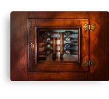 Steampunk - Electrical - The fuse panel Canvas Print