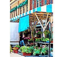 Roanoke VA - Unloading Flower Truck Photographic Print