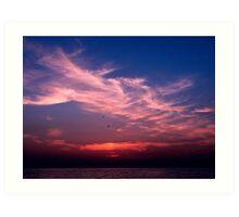 sunset3 Art Print