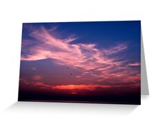 sunset3 Greeting Card