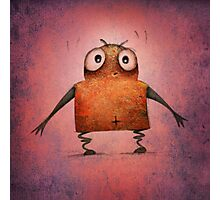 Funny Undroid Robot Photographic Print