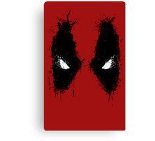 Deadpool eyes  Canvas Print