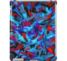 abstract, geometric, expressionist, color iPad Case/Skin