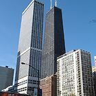 Big John - Chicago Hankock Building by Pat Herlihy