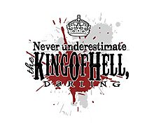 King of Hell Photographic Print