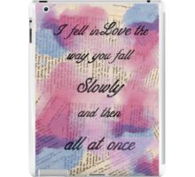 I fell in Love  iPad Case/Skin