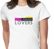 YogaLifestyle Lovers Womens Fitted T-Shirt
