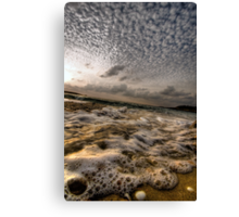 Foam Canvas Print