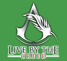 Live By The Creed Kids Clothes