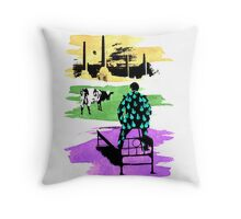 "Pink Floyd ""Momentary Heart of Thunder, Reason & Animals"" Throw Pillow"