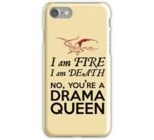 [The Hobbit] - Drama Queen Smaug iPhone Case/Skin