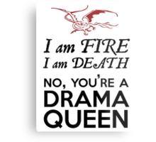 [The Hobbit] - Drama Queen Smaug Metal Print